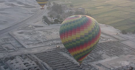 Two French killed in Egypt balloon tragedy