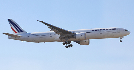 Air France pilot 'insults' Moroccan king