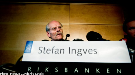 Sweden keeps repo rate at 1 percent