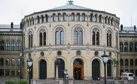 Man arrested in Oslo over parliament threats