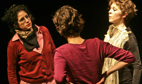 Theatre makes a drama out of national identity