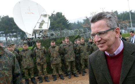 Defence minister tells soldiers 'stop whining'