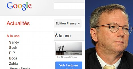 France signs landmark pay deal with Google