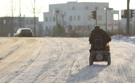 Speedy disabled man told: Get out and walk