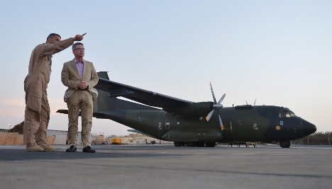 Defence Minister visits German troops in Mali