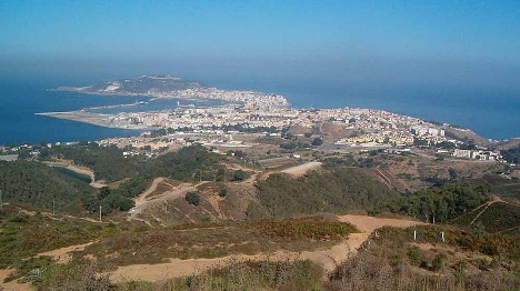 Expat workers in Spanish enclave hold Rabat demo