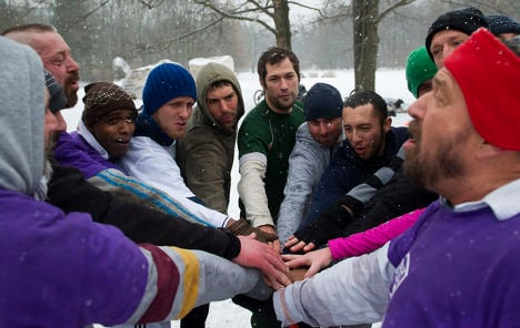 Germany's first gay rugby team scrums down