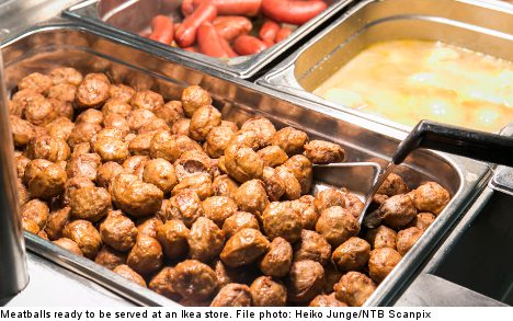 Now on sale at Ikea: horse-free meatballs