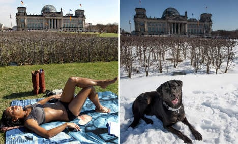 Icy spring sets records for deep freeze