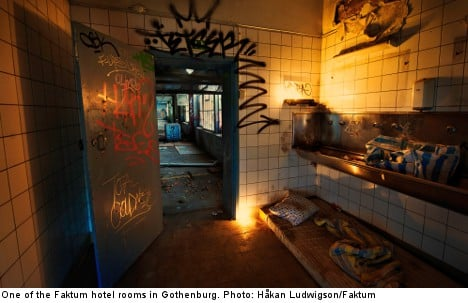 Gothenburg hotel leaves guests out in the cold