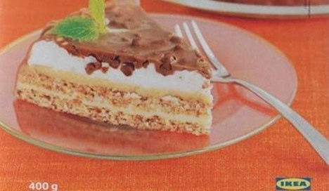 Bacteria-infected cake sold in Swiss Ikea stores