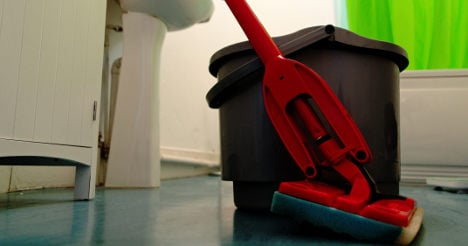Girl 'forced to work' as janitor in French school