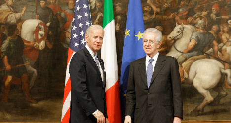 Italy PM condemns US blasts as 'cowardly act'