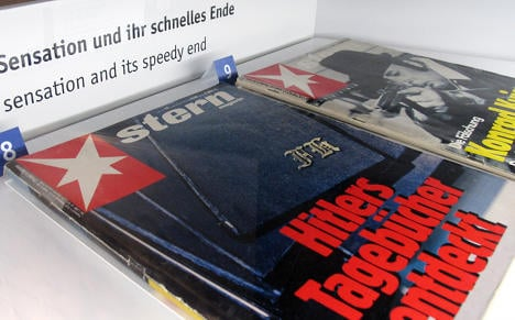 Stern's forged Hitler diaries to go public
