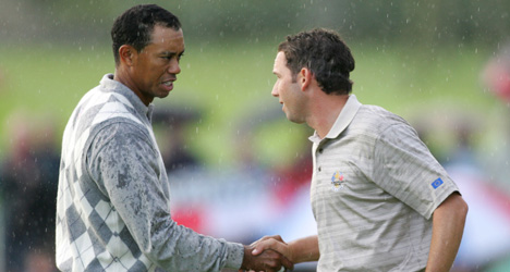 Sergio says sorry to Tiger for 'fried chicken' slur