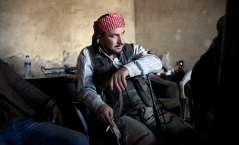 Germany renews support for Syrian rebels