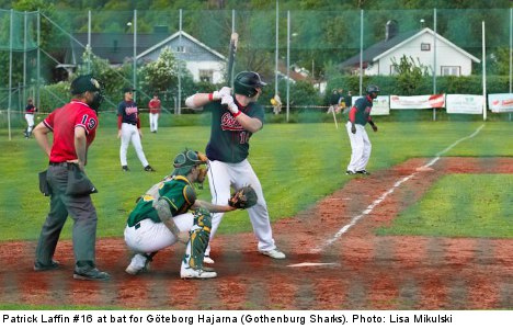 US baseball players look to create a field of dreams in Gothenburg