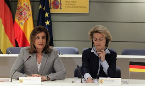 Spain and Germany fight youth employment
