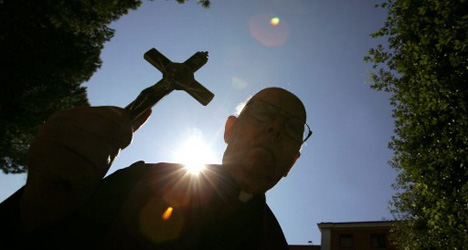Exorcist squad hired to fight Satan in Madrid