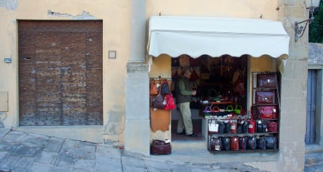Italy's small shops face extinction