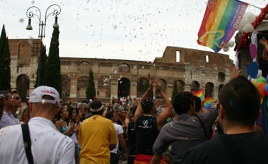 Rome Mayor says he won't attend Gay Pride