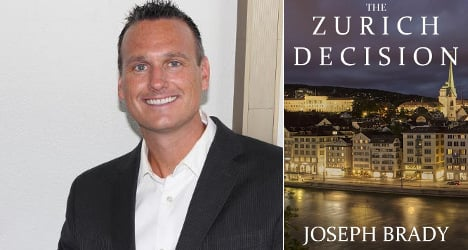US writer sets thriller in Zurich – then moves there