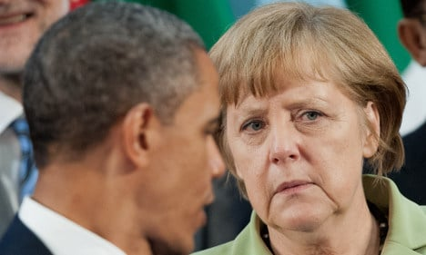Obama tries to ease German spying angst