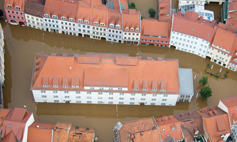 Before and after: Seven flooded German towns