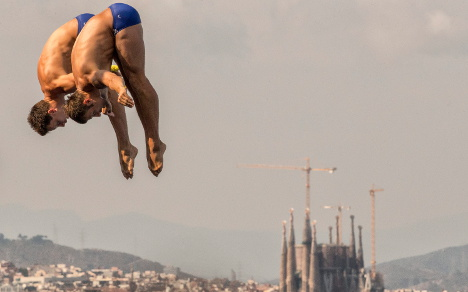German pair take gold in synchronized diving