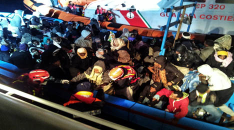 31 dead on doomed voyage to Italy
