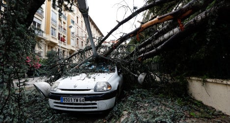 VIDEO: Extreme weather wreaks havoc in France