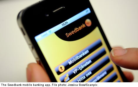 Swedes snap up mobile banking
