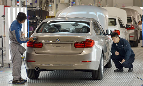 BMW to recall 140,000 cars in China