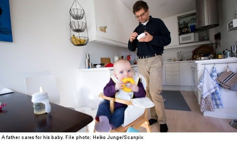 Fathers make up third of parental leave