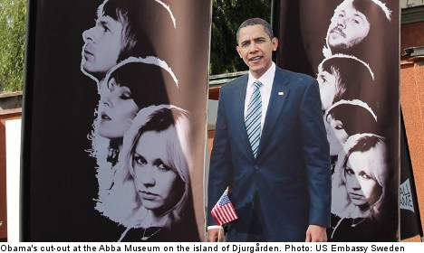 Mystery 'Obama sighting' ahead of Stockholm visit