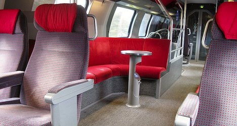 Passengers to stand on Basel regional trains