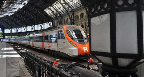 Train collision injures 22 in Barcelona