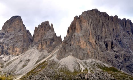Three killed in Dolomites climbing accident