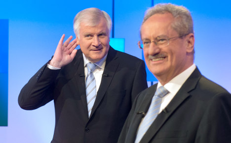 Bavaria warms up for election with TV fight
