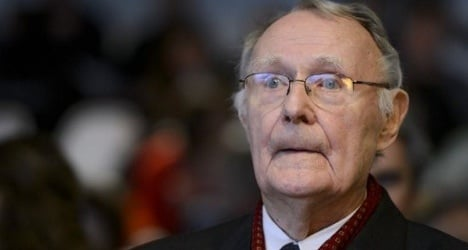 Ikea founder in 'family feud' over fortune