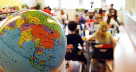 School row as parents 'flee' over foreign pupils