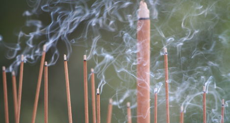 France mulls scented candles and incense ban