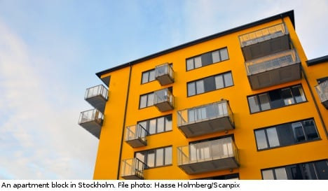 Stockholm rents rise 20 percent in one year