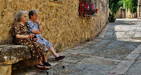 Poverty trap threatens Spain's pensioners