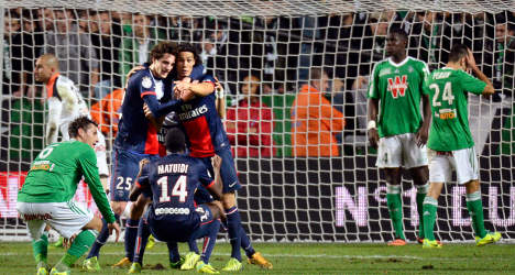 PSG salvage late draw to stay top of Ligue 1