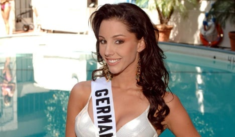 Former Miss Germany tries luck in Mexico