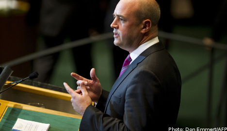 Reinfeldt: Economy at its strongest in 40 years