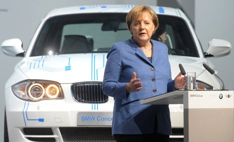 BMW donation to Merkel party sparks fears
