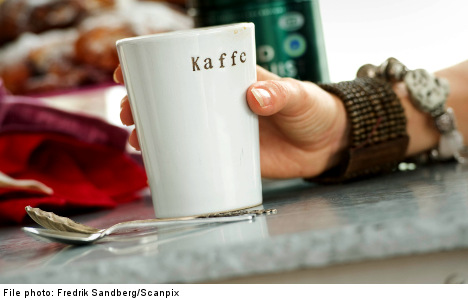 Stockholm man poisoned by cleaning fluid coffee