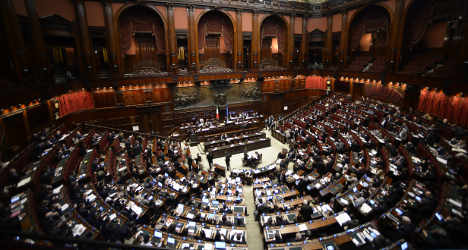 Italian MPs among highest paid in Europe